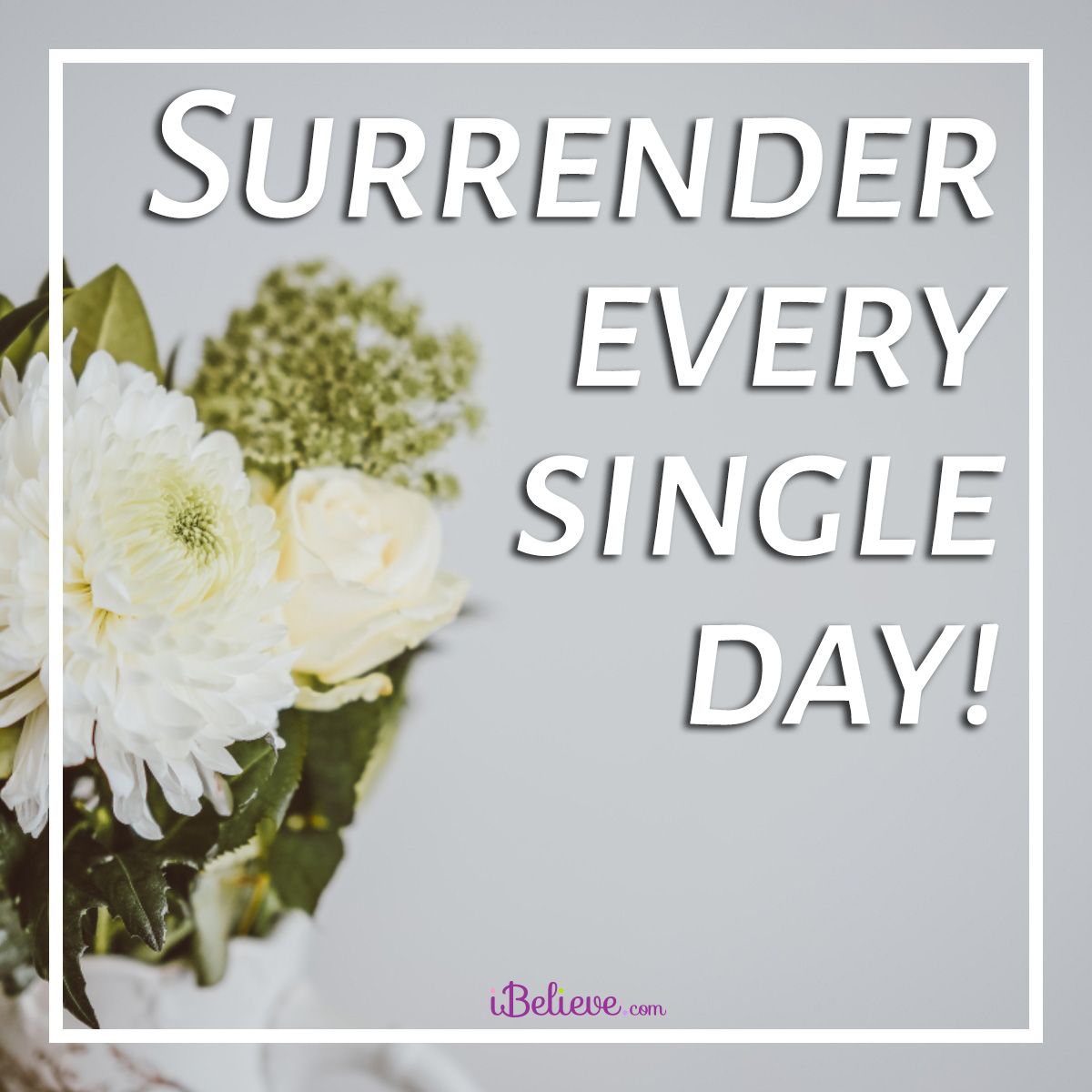 Surrender every day
