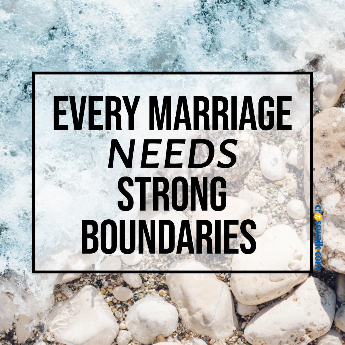 Marriage boundaries inspirational image
