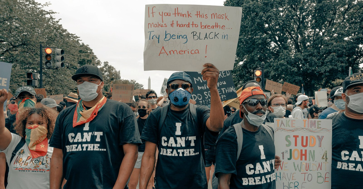Racial justice protests, 30 percent of practicing Christians in the US are not interested in engaging in matters of racial justice