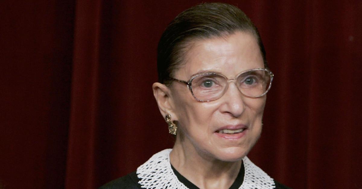 Ruth Bader Ginsburg, Ruth Bader Ginsburg dies