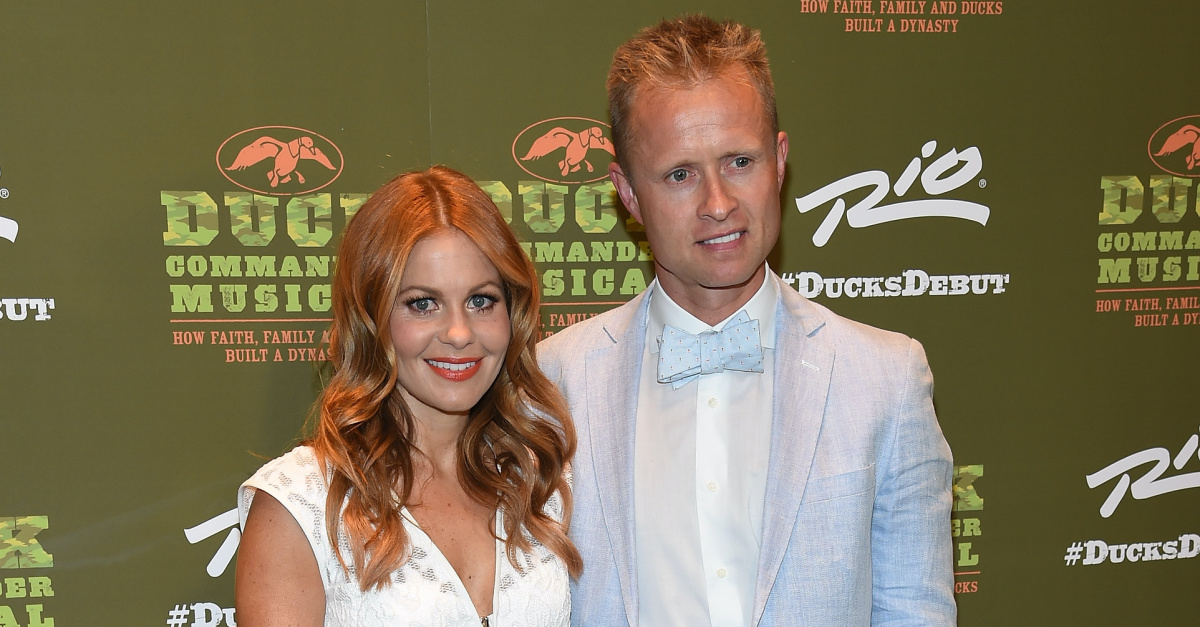 Photo of Candace Cameron Bure, Husband Showing PDA Draws Backlash