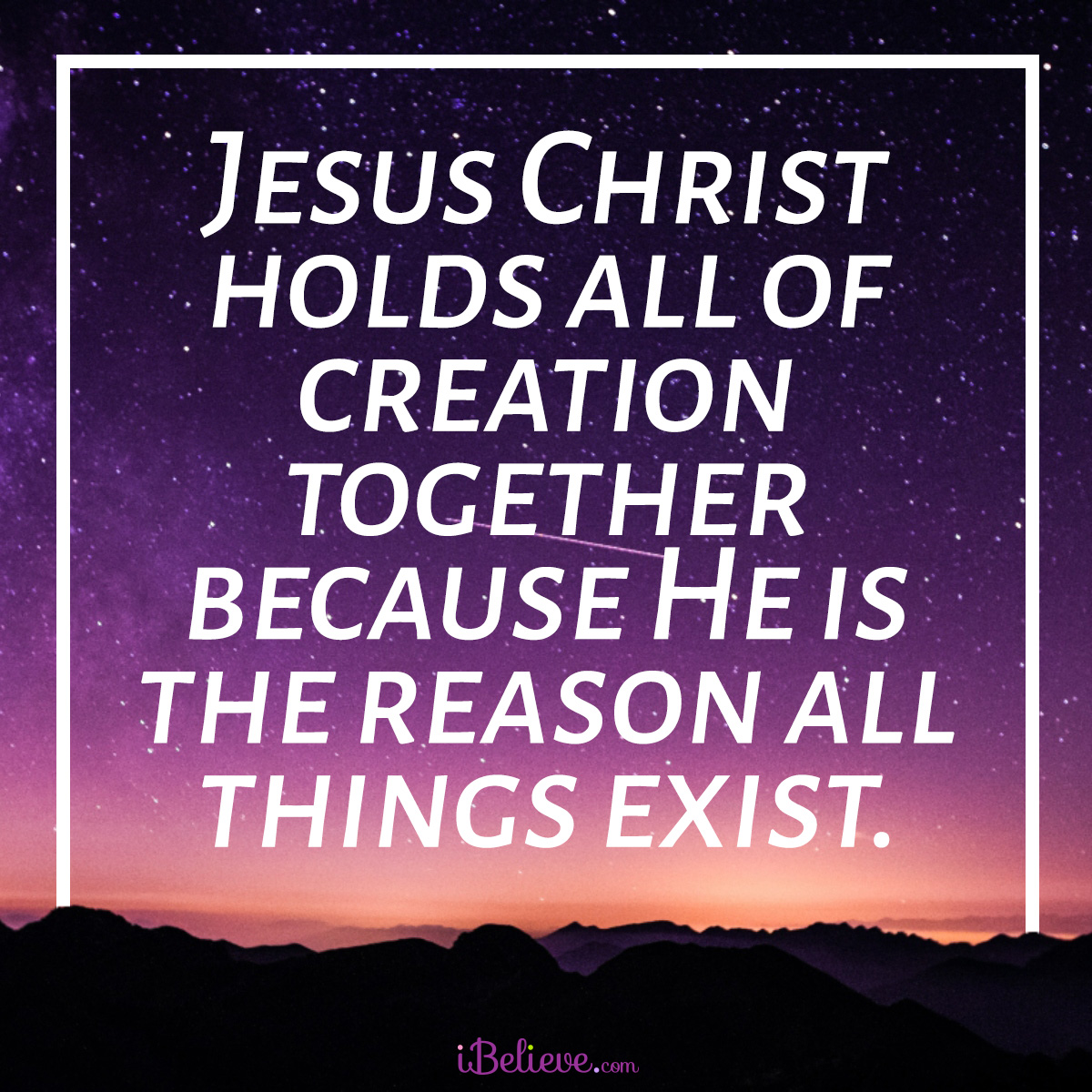 holds-creation-together