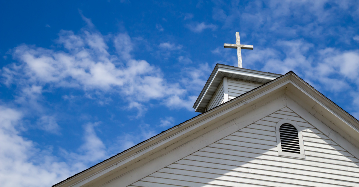 A church building, Church pastors thank God for keeping their building safe amid riots and arson
