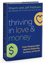 Thriving in Love and Money book, October gift from Harvest