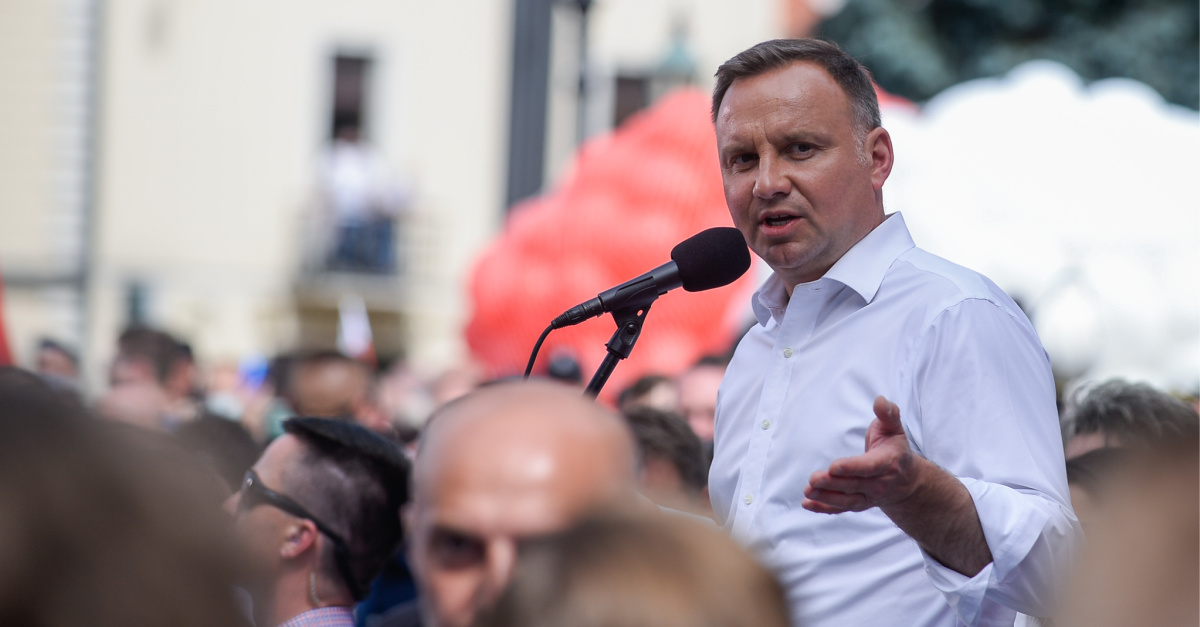 Poland's President Walks in March for Life for First Time