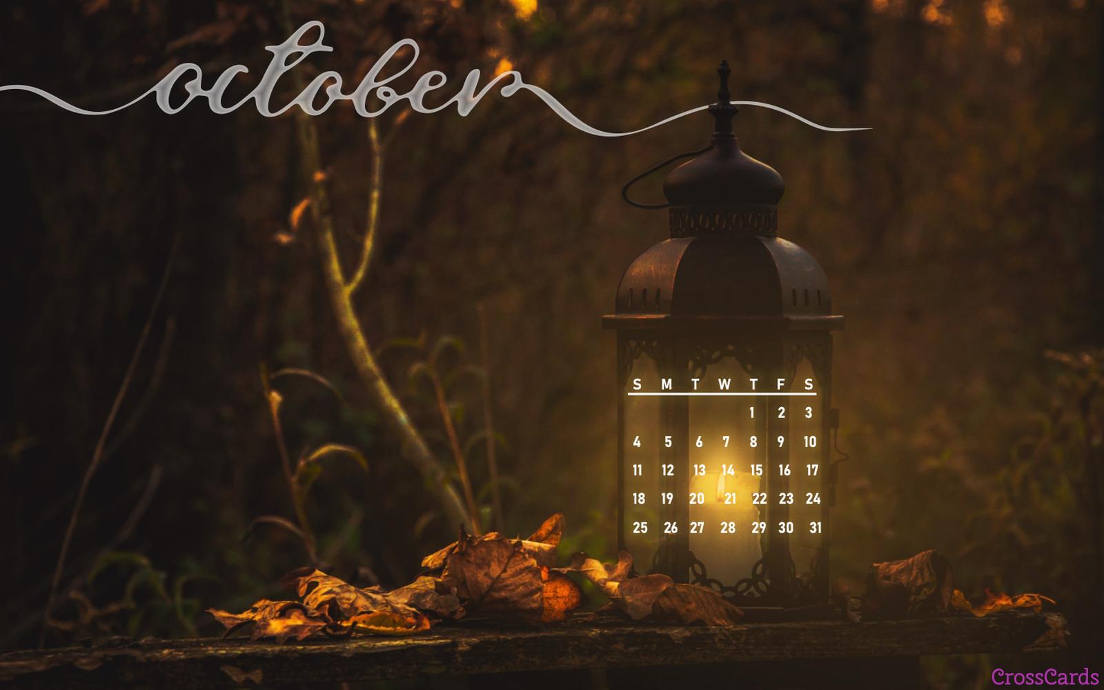 October 2020 - Light in the Dark mobile phone wallpaper