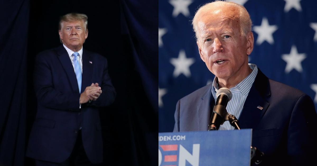 Trump, Biden Both Receive Nobel Peace Prize Nominations