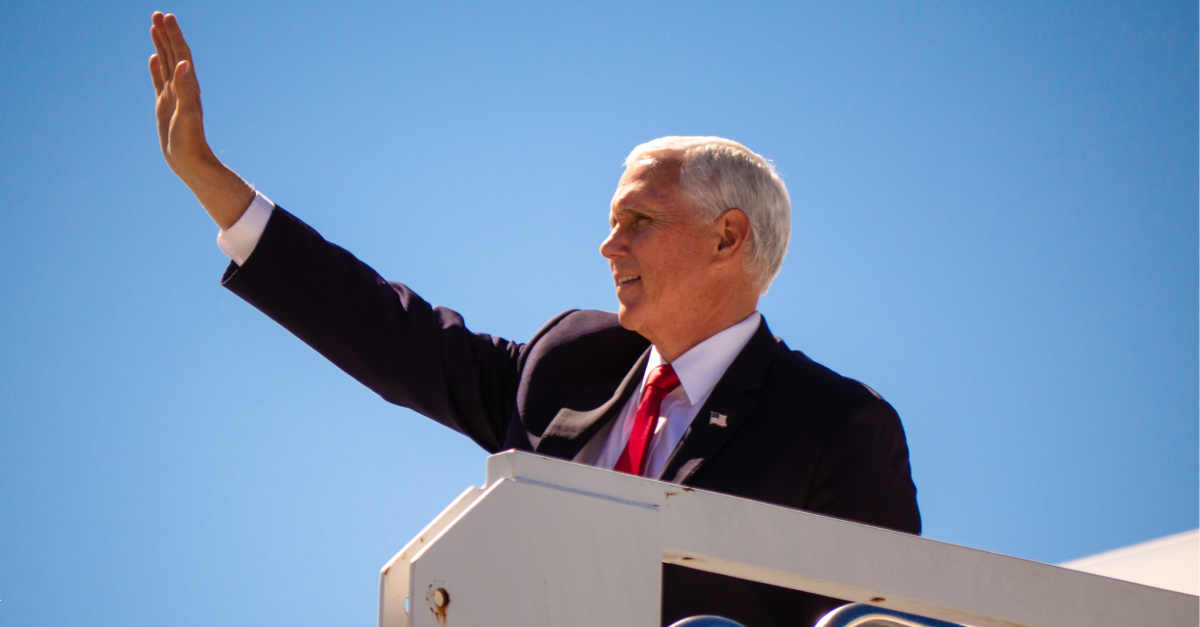 'I'm a Christian First and Republican Next': Vice President Pence Makes Campaign Stop in Atlanta