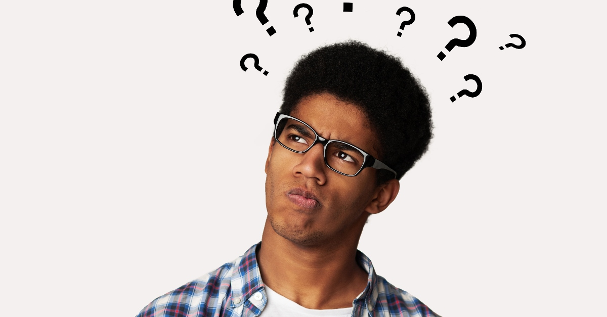 young man looking confused and questioning, reasons for youth's skepticism of faith