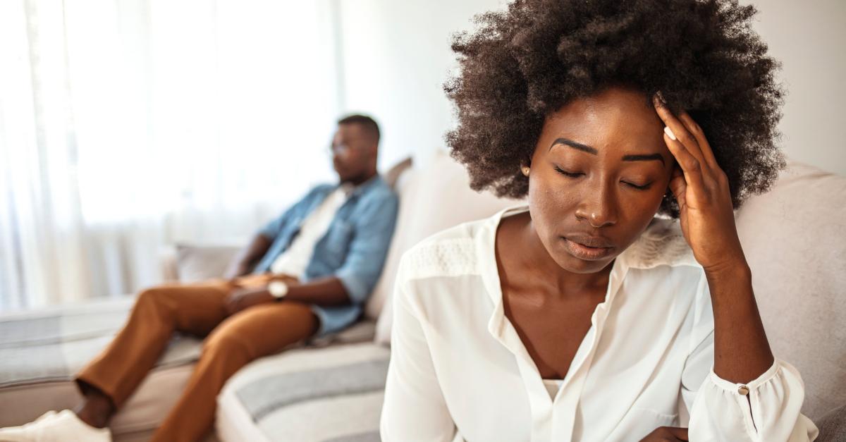 narcissist silent treatment unhappy couple