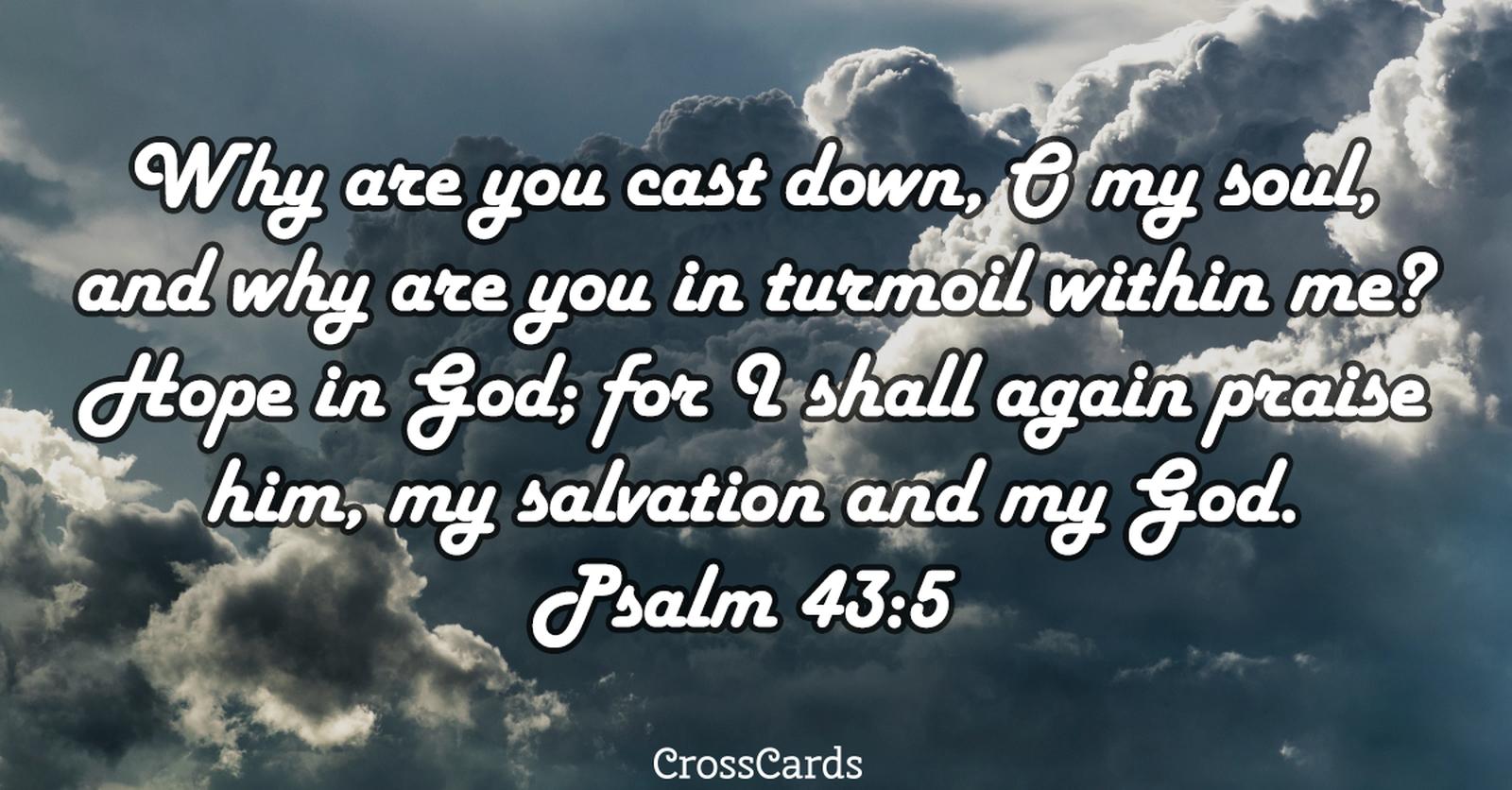 Psalm 43:5 ecard, online card