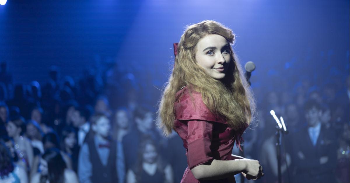 Sabrina Carpenter in Clouds