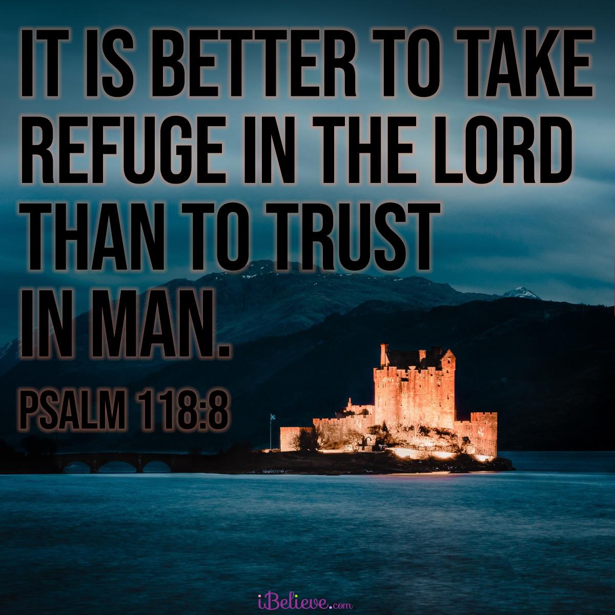 Psalm 118:8 sq
