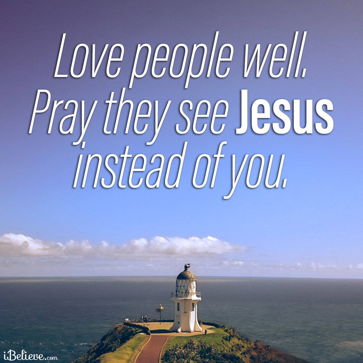 See Jesus not you, inspirational image