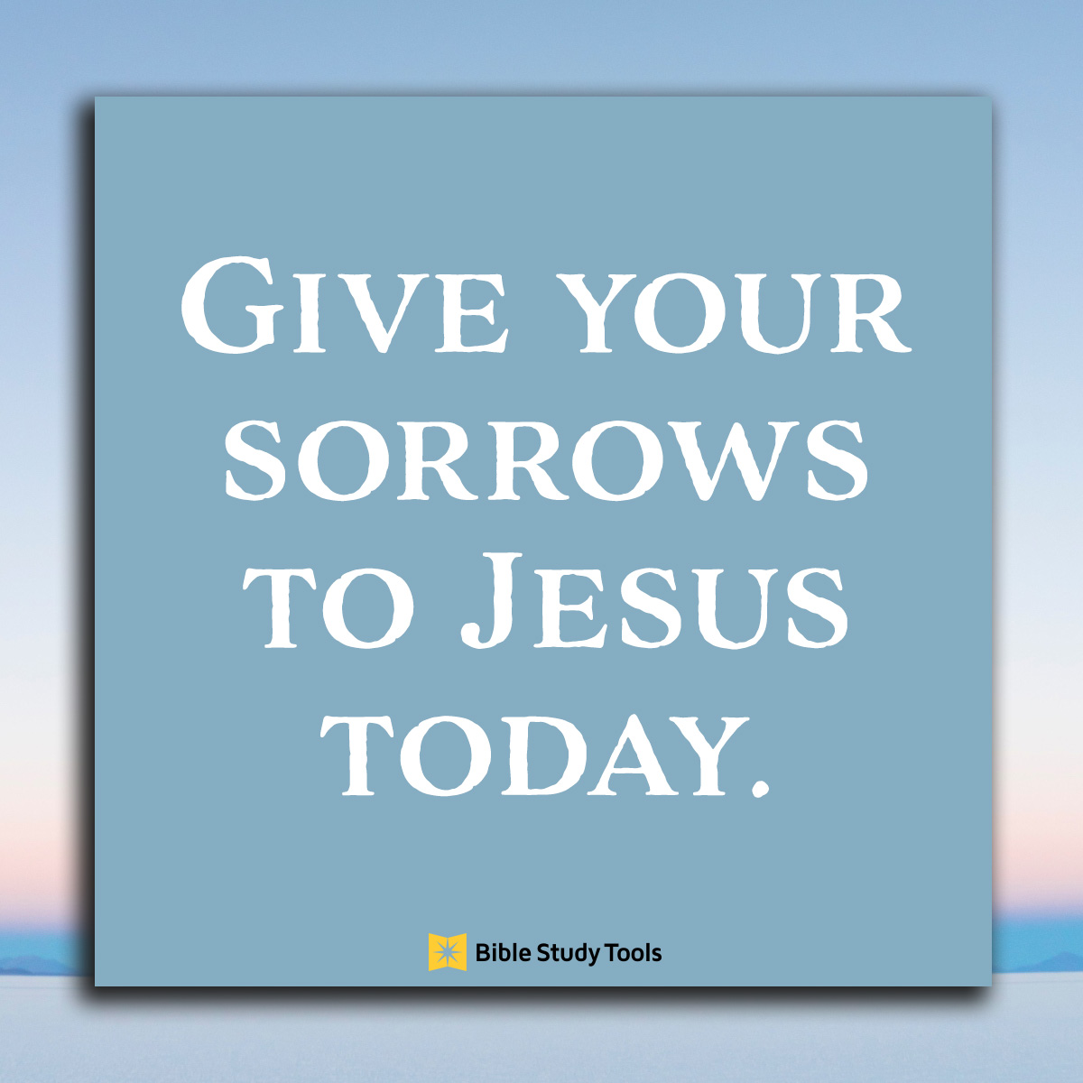 sorrows-to-jesus