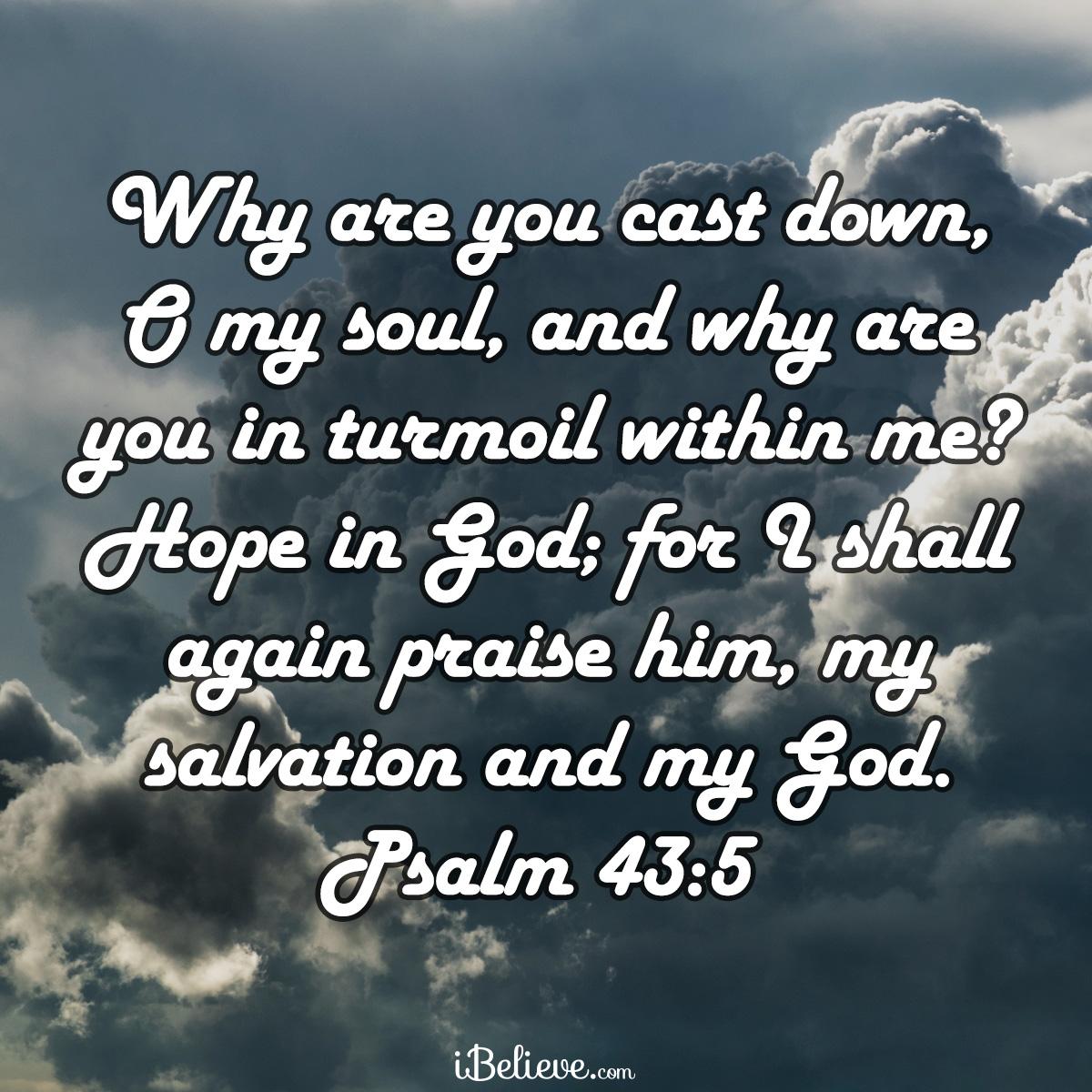 Psalm 43:5, inspirational image