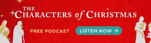 The Characters of Christmas podcast banner ad