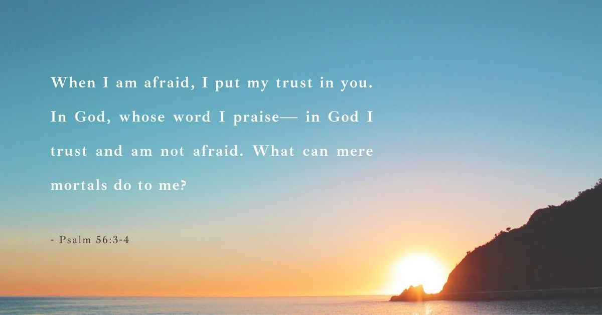 bible verse for fear and stress