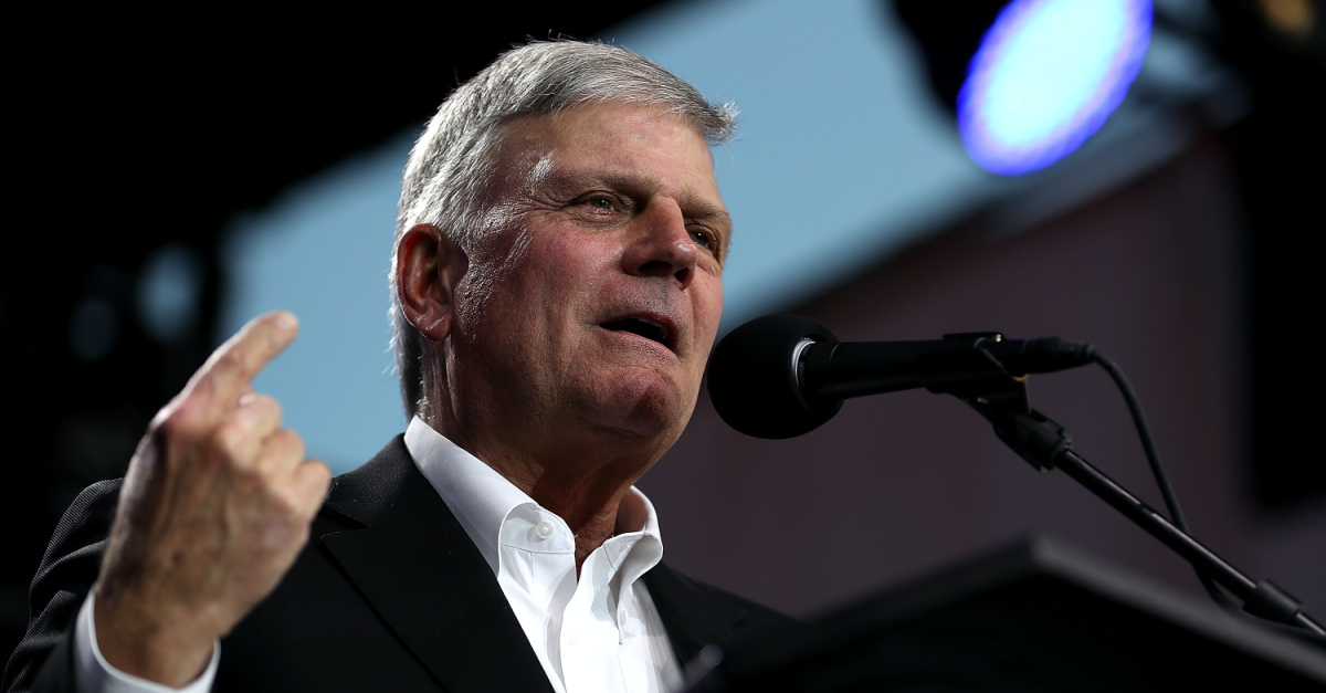 Franklin Graham: Pray that God Will 'Help Us Know the Truth' about Election Fraud Claims