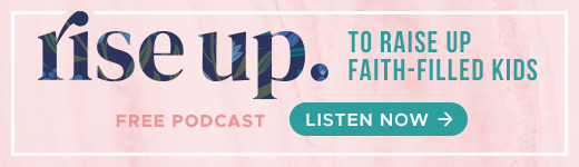 Rise Up Podcast banner ad