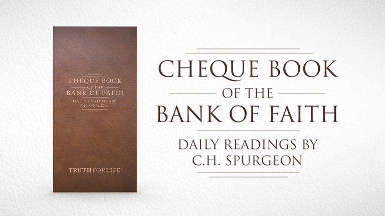 Cheque Book of the Bank of Faith