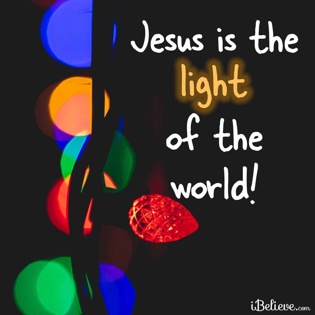 Light of the World, inspirational image