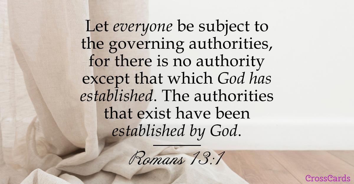 Romans 13:1 ecard, online card