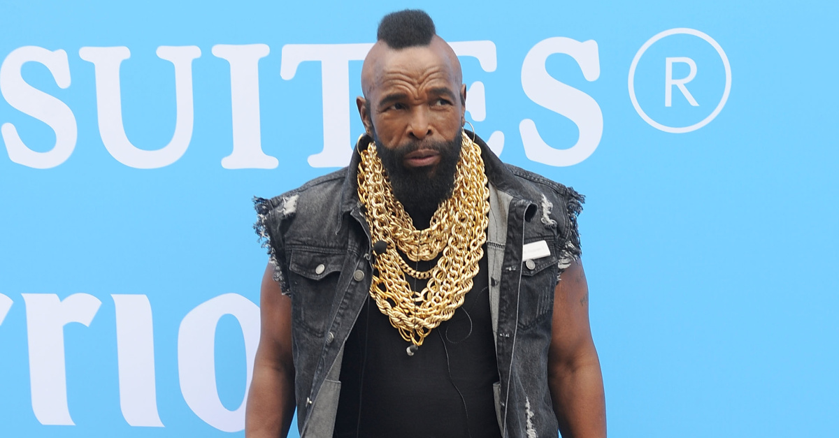 Mr. T Tells Fans God Is the Antidote to Hate