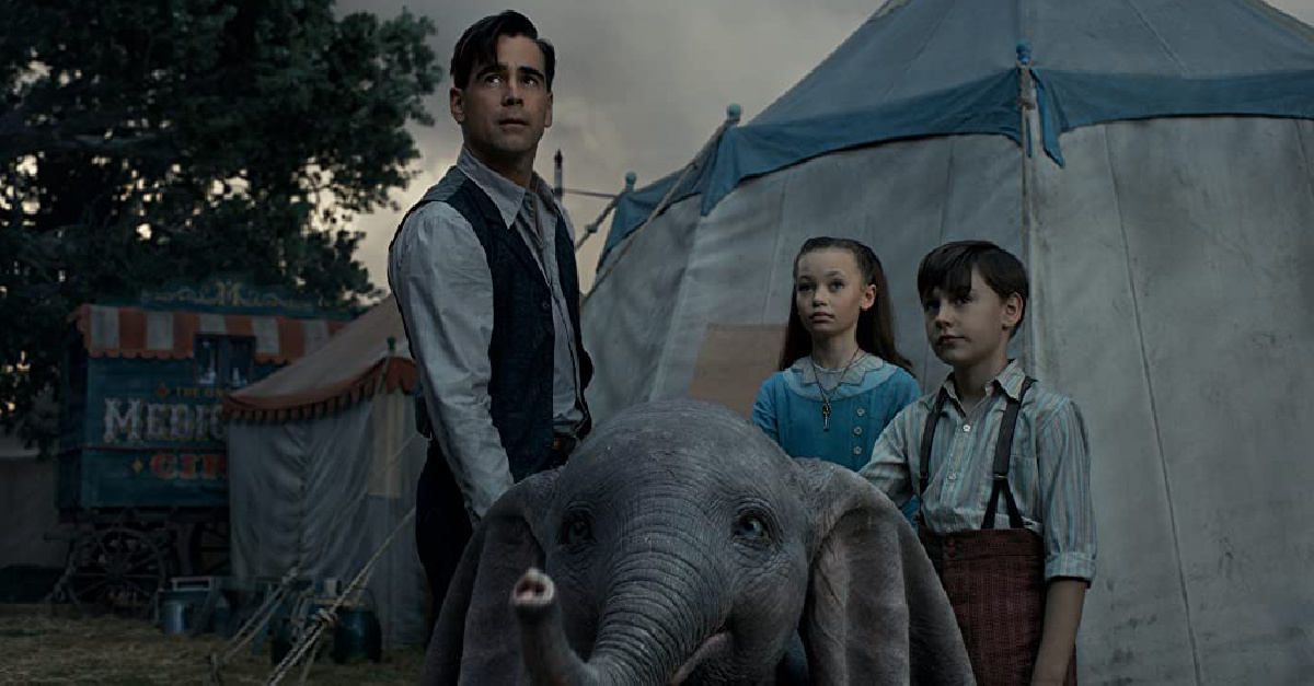 Colin Firth in the Live Action Dumbo