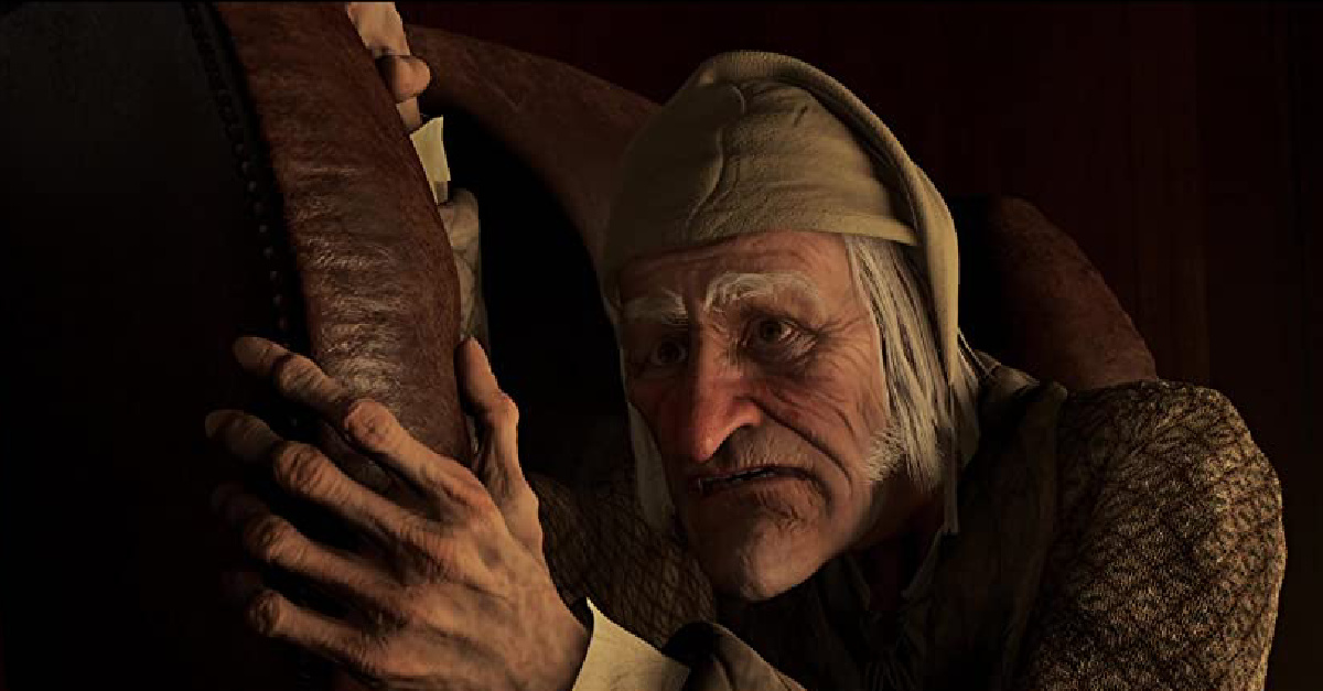 Scrooge in the Animated Christmas Carol