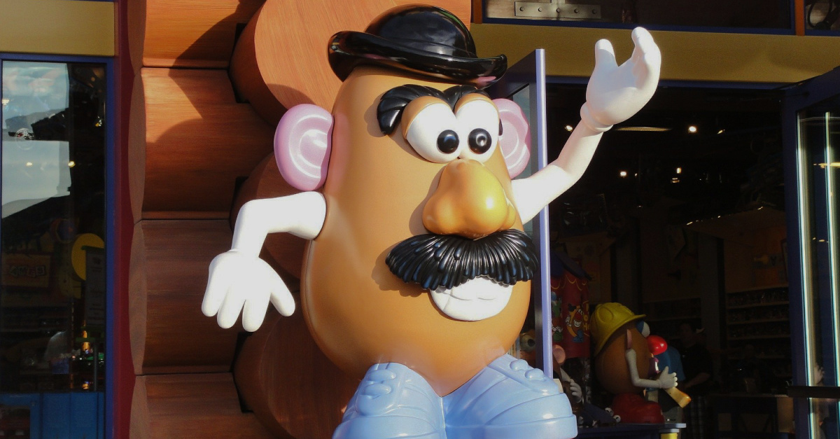 Hasbro Drops 'Mr.' and 'Mrs.' in Mr. Potato Head Logo