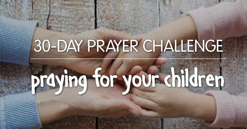 holding hands, prayer challenge for children