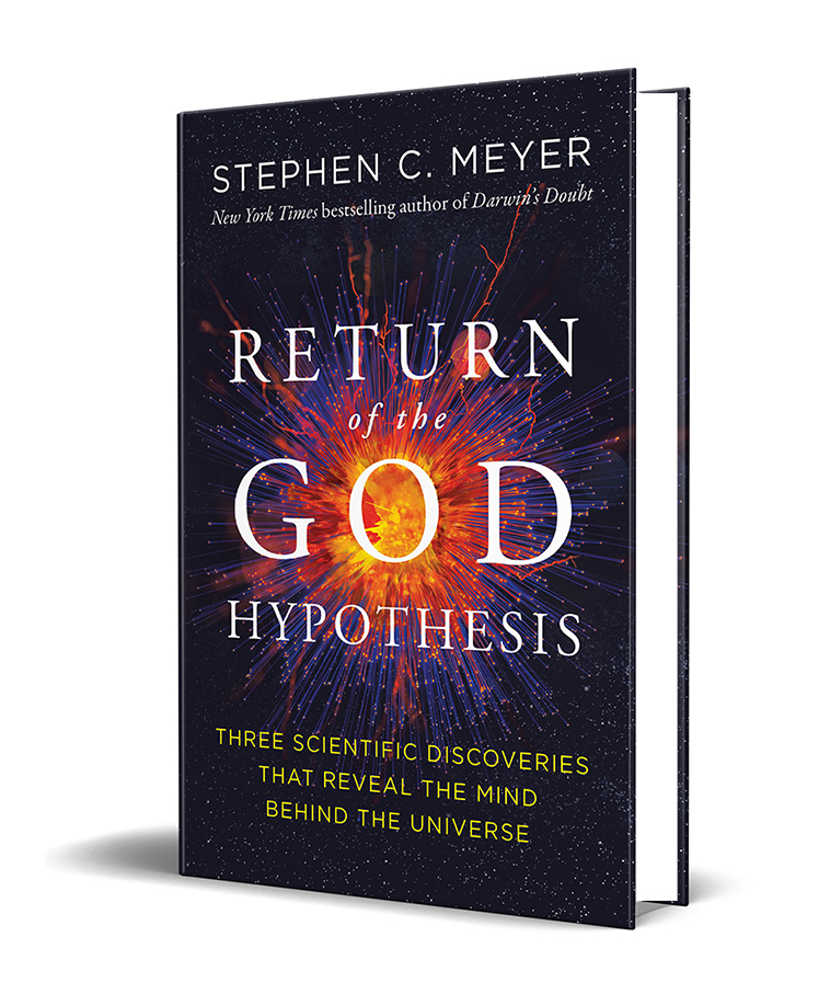 Book cover for Return of the God Hypothesis by Stephen Meyer