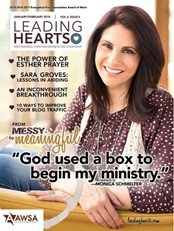 leading hearts magazine amber weigand-Buckley arise daily