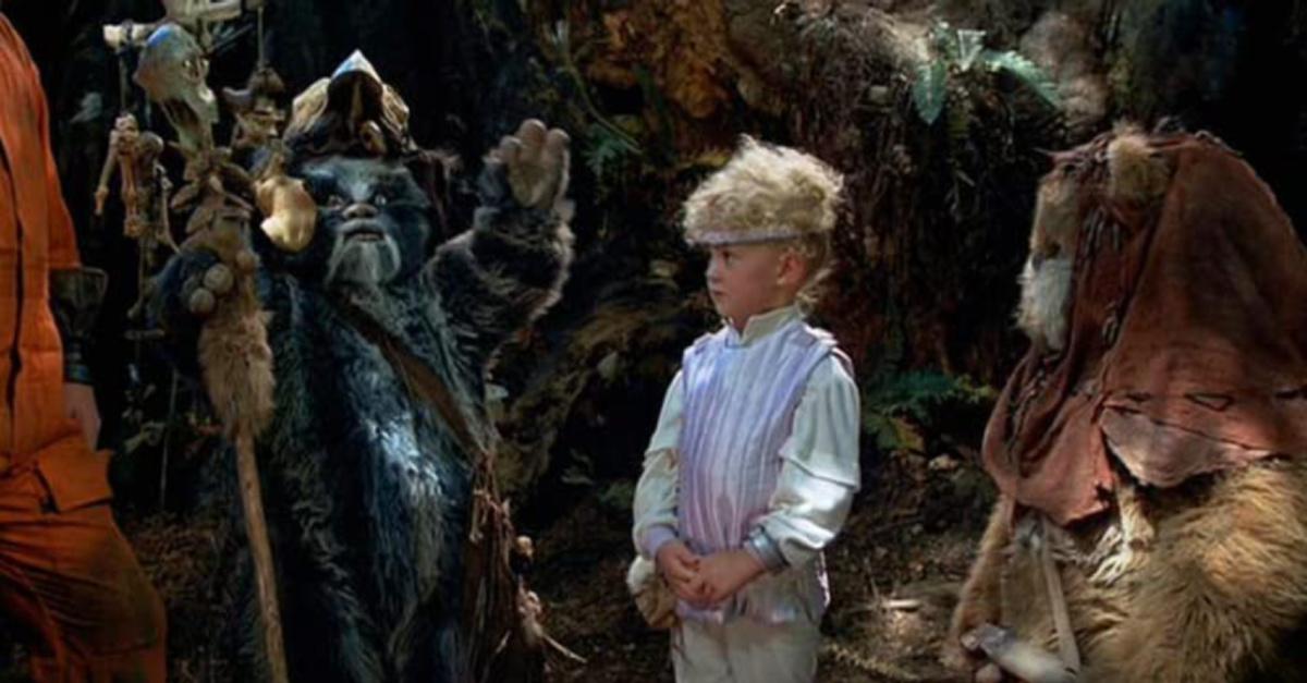 Ewoks in Star Wars