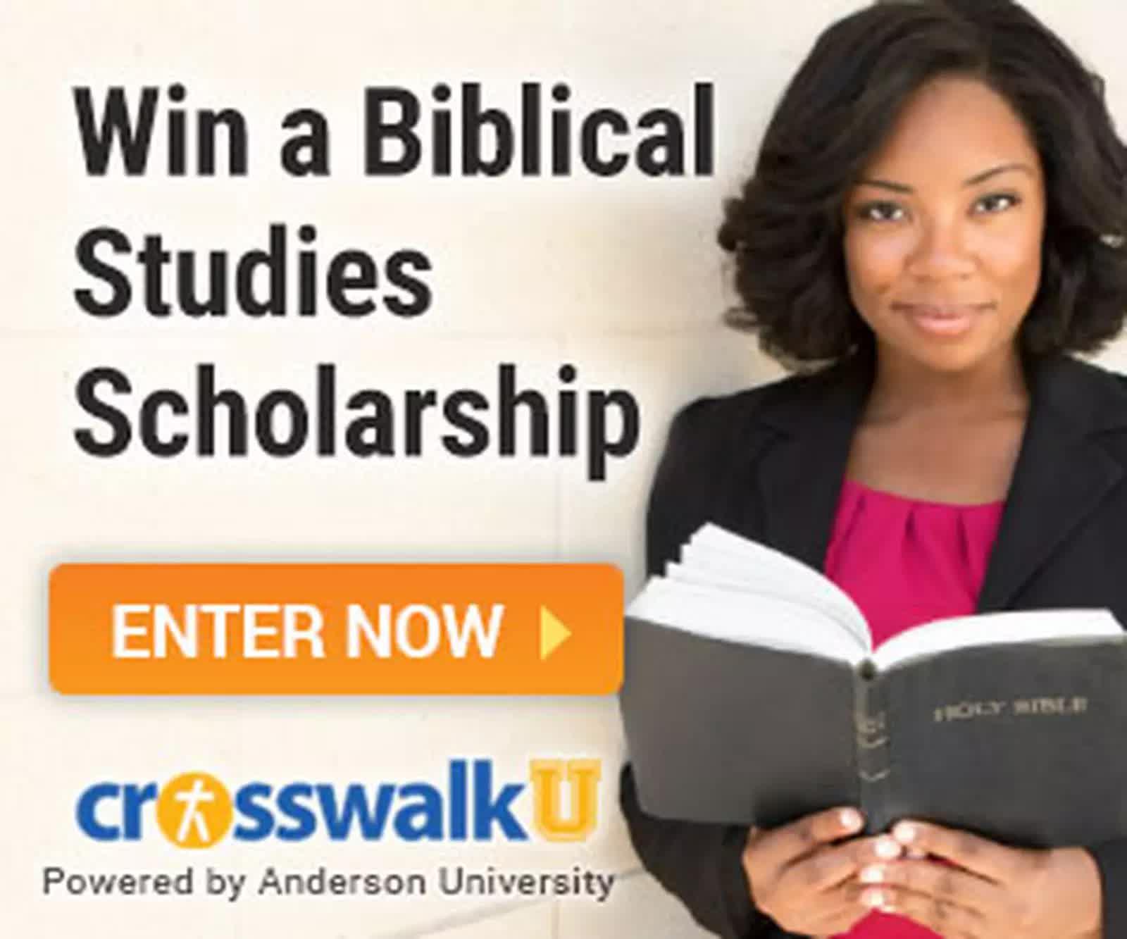 Win a biblical studies scholarship with Crosswalk University