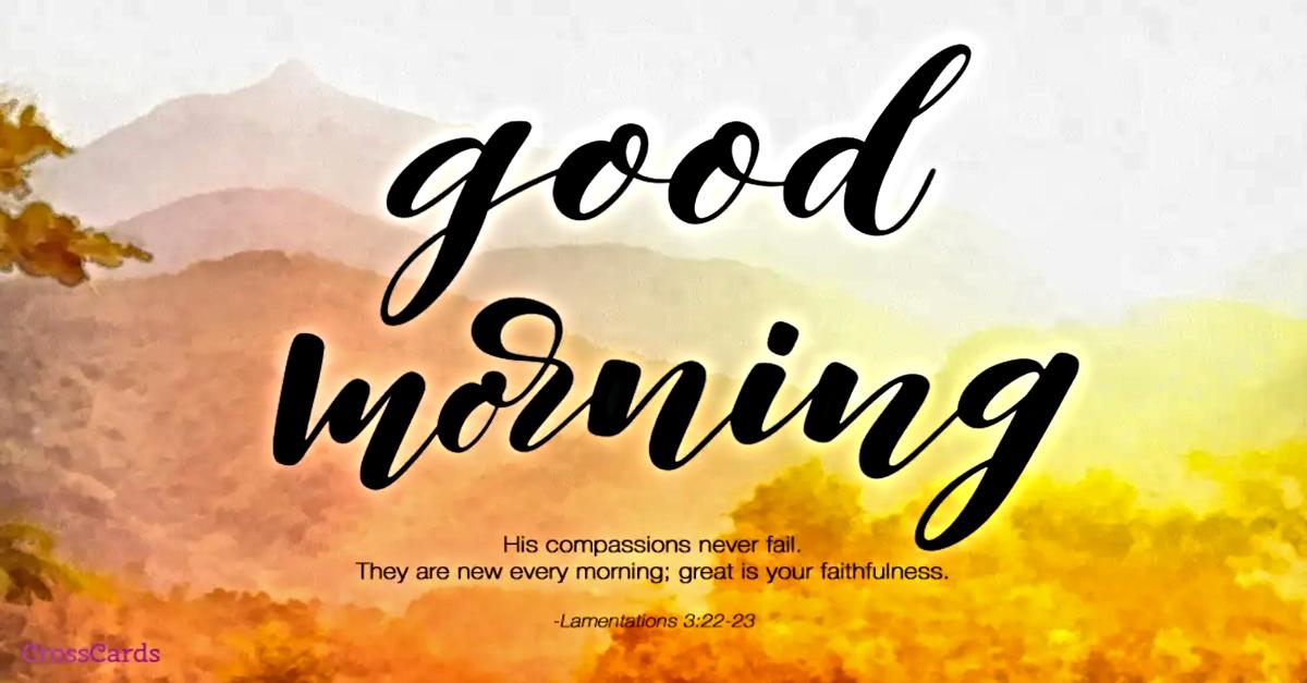 morning blessings