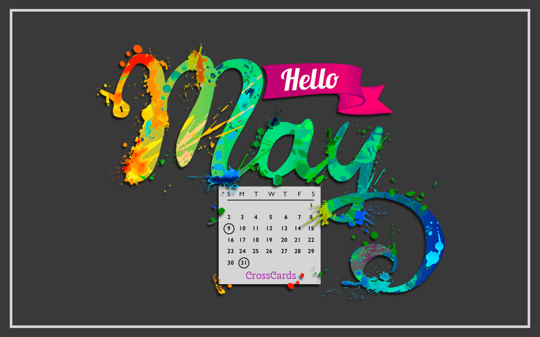 May 2021 - Hello May! mobile phone wallpaper