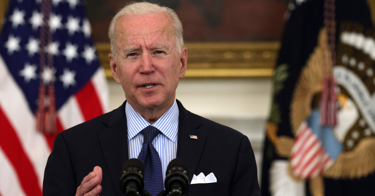 Biden Becomes 1st President to Omit 'God' from National Day of Prayer Proclamation