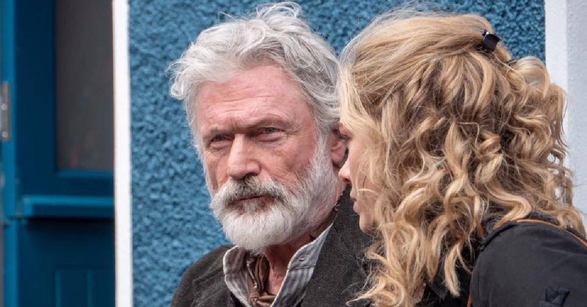 Rose Reid and the character Becketts father, Its based on a Novel