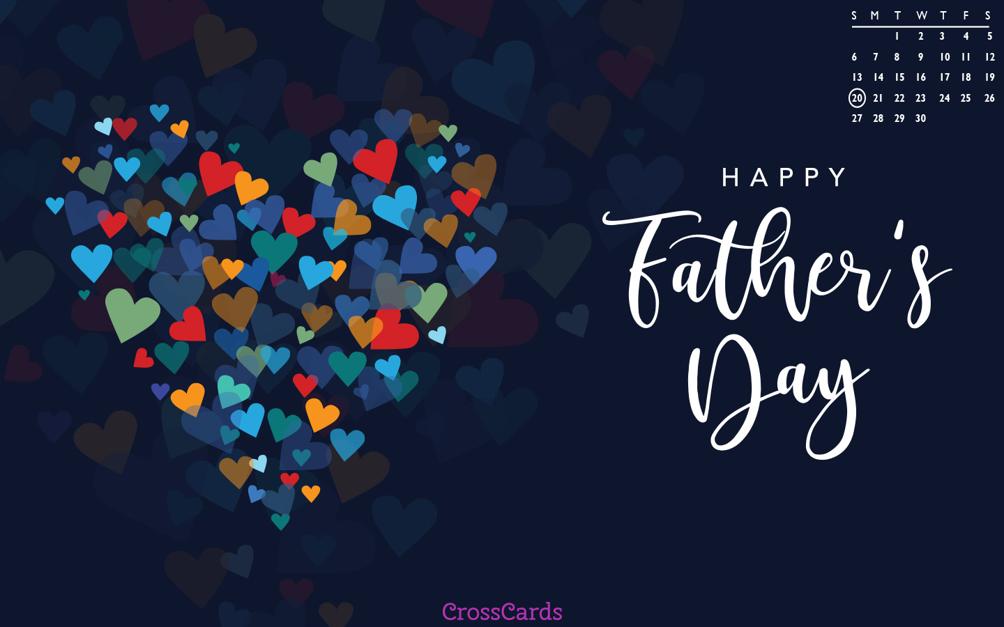 June 2021 - Father's Day mobile phone wallpaper