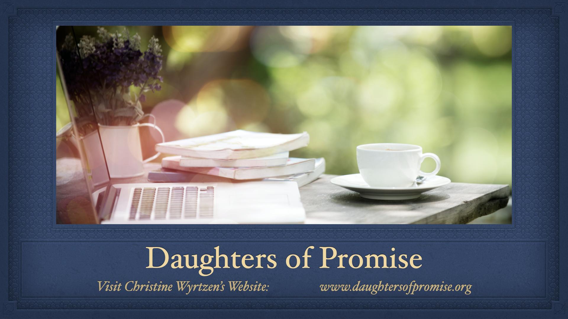 Daughters of Promise devo ad 2021