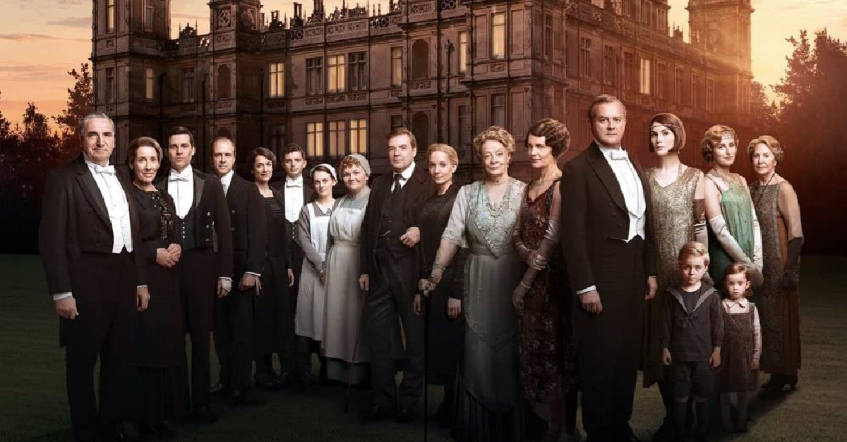 The cast of Downton Abbey, Downton Abby