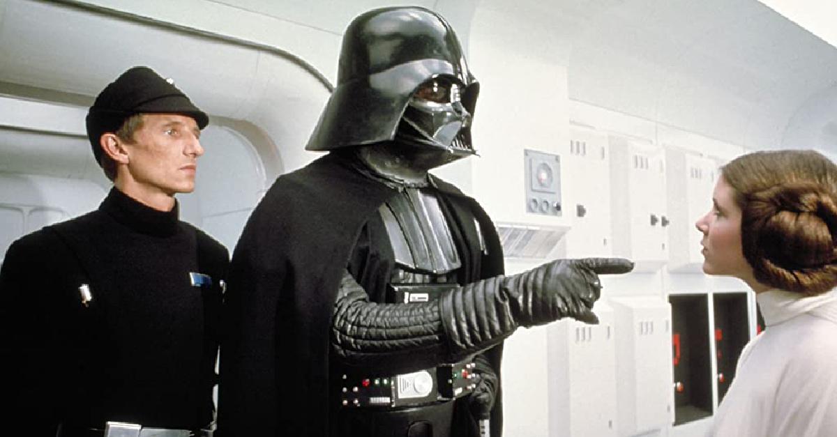 Princess Leia and Darth Vader, Star Wars