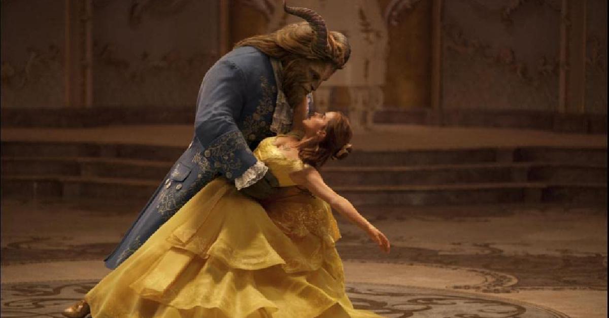 Emma Watson and the Beast, Beauty and the Beast