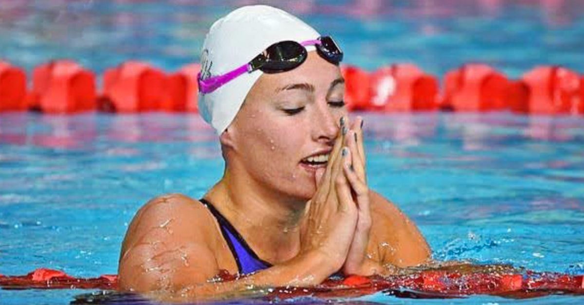 Olympic Swimmer Tatjana Schoenmaker Gives Glory to God in Tokyo
