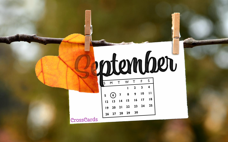 September 2021 - Autumn Note mobile phone wallpaper