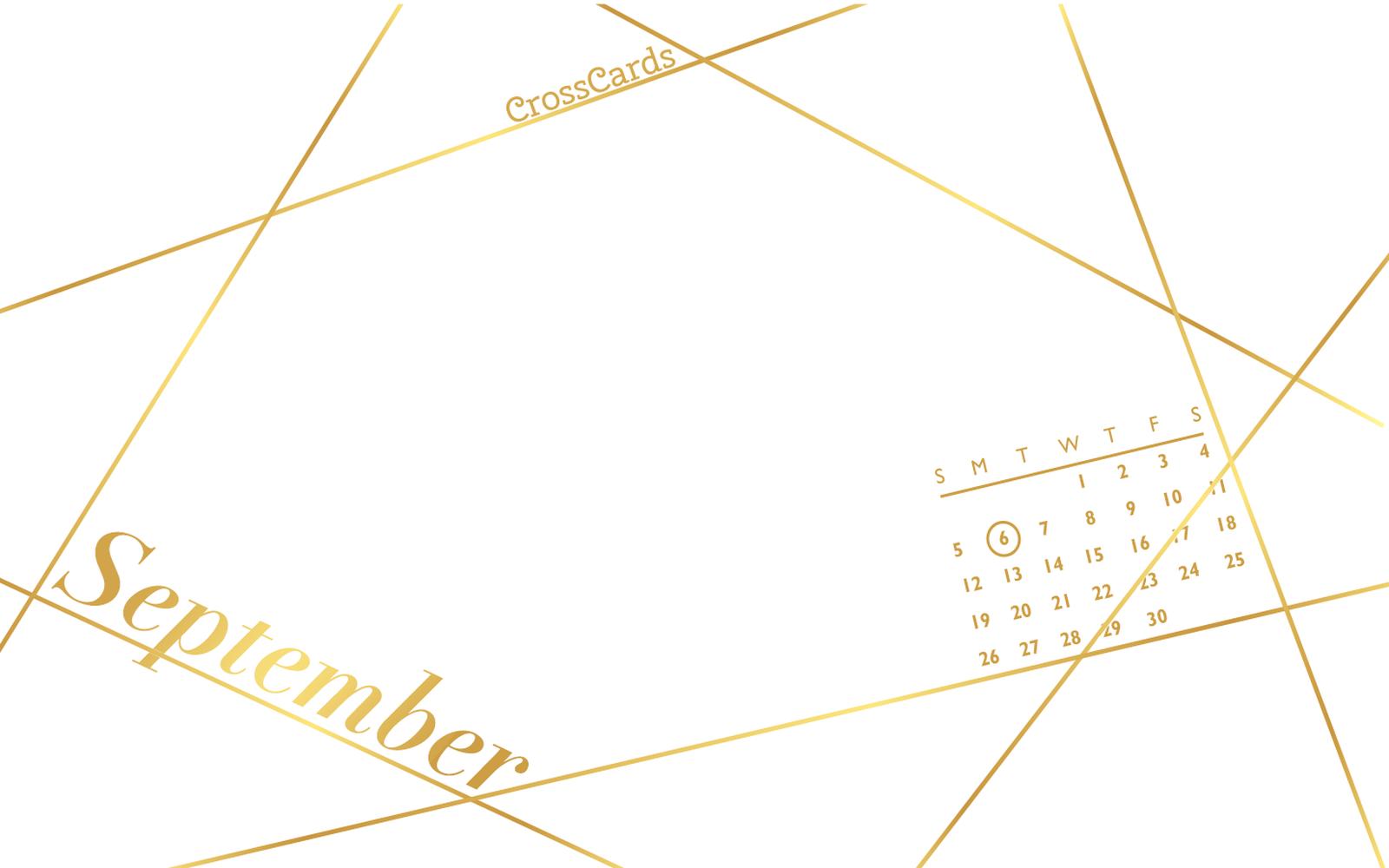 September 2021 - Geometric mobile phone wallpaper