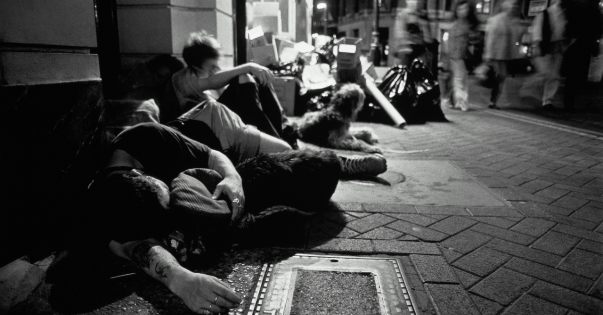 Number of Homeless Youth in the U.K. Has Increased by 40 Percent in the Last 5 Years