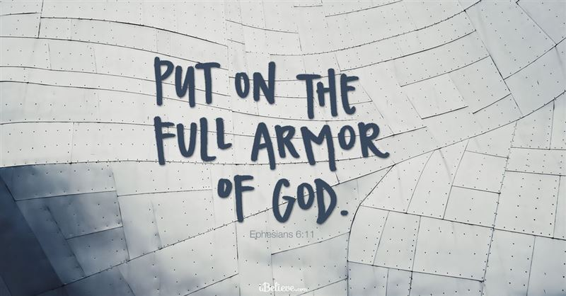 <strong><strong>5. A Prayer to Take Up the Armor of God against Our Enemy</strong></strong>